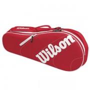 Raqueteira Wilson Advantage Team X3 - Vermelha