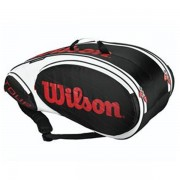 Raqueteira Wilson Tour X9 - Preto