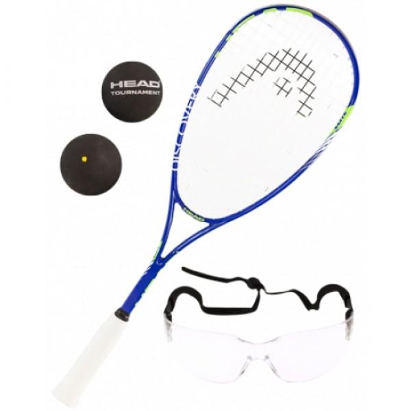 Raquete de Squash Head Elite Kit