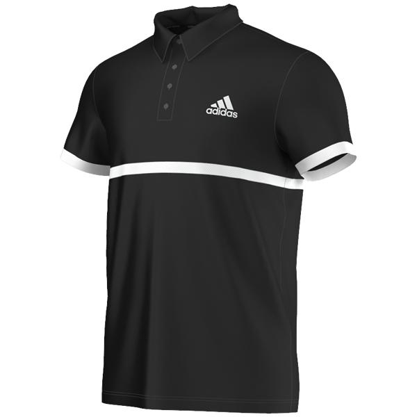 ad2f976a26 Camisa Polo Adidas Court - Preta - Oficina do Tenista