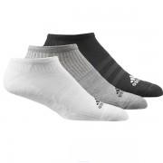 Pack Meia Adidas Liner Cano Baixo Cores - 3Und
