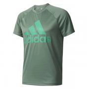 Camiseta Adidas MC D2M - Musgo e Verde