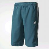 Bermuda Adidas Long Chelsea 3S - Azul e Branco