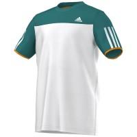 Camiseta Adidas Response Infantil - Verde/Branco
