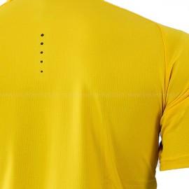 Camiseta Adidas Barricade Tee - Amarelo e Preto