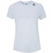 Camiseta Adidas Feminina D2M Loose - Branca