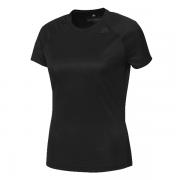 Camiseta Adidas Feminina D2M Loose - Preto