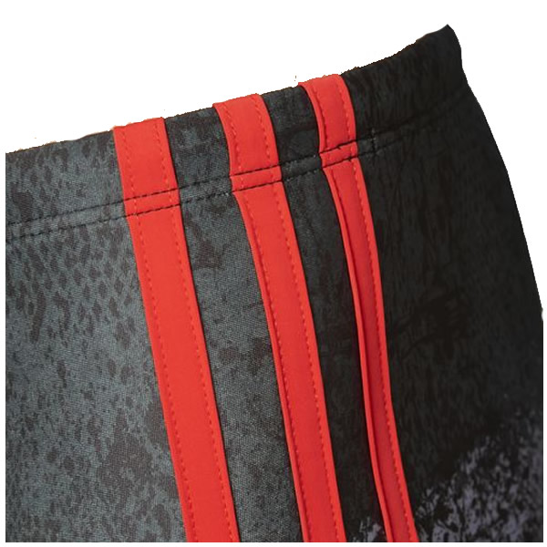 Sunga Adidas Graphic - Cinza e Vermelha - Oficina do Tenista fc265f596fa