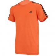 Camiseta Adidas  Essential 3S - Laranja