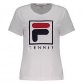 Camiseta Fila Soft Urban  Feminina - Branca