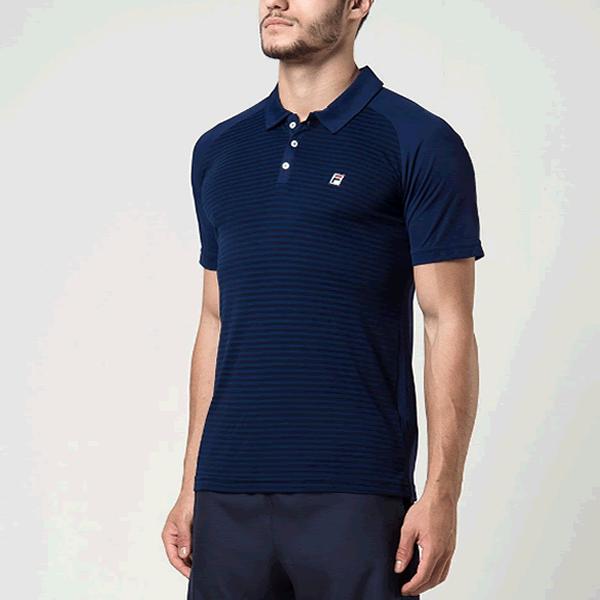 e9999bde88939 Camisa Polo Fila Wolf II - Azul - Oficina do Tenista
