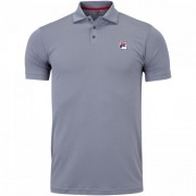 Camisa Polo Fila Action III - Cinza