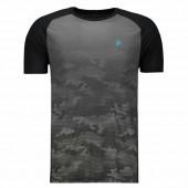 Camiseta Fila Jacquard Stripes - Camuflada