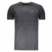 Camiseta Fila Stripes - Cinza