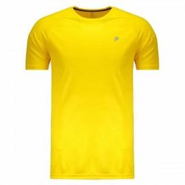 Camiseta Fila Stripes - Amarela