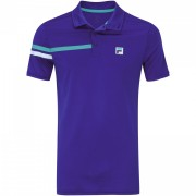 Camisa Polo Fila Bands - Royal