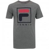 Camiseta Fila Soft Urban - Cinza