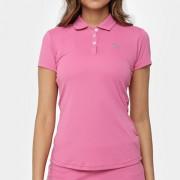 Camisa Polo Fila Plaids - Rosa