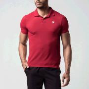 Camisa Polo Fila Spot - Vermelha