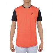 Camiseta Head Estampada - Laranja