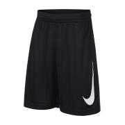 Shorts Nike Infantil Dry HBR - Preto e Branco