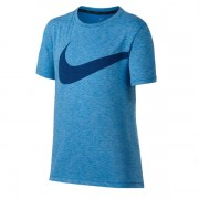 Camiseta Nike Infantil Breath Top - Azul