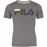 Camiseta Fila Infantil DNA - Cinza