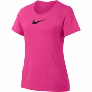 Camiseta Nike Infantil Feminina Top SS - Rosa