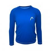 Camiseta Head UV Line Infantil - Azul Royal