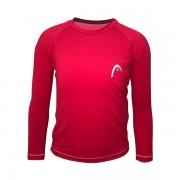 Camiseta Head UV Line Infantil - Vermelha