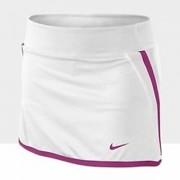 Saia Short Nike Infantil Power - Branca e Rosa