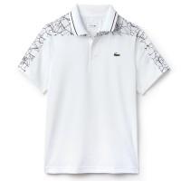 Camisa Polo Lacoste Novak Djokovic DH9481 - Branca