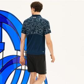 Camisa Polo Lacoste Novak Djokovic DH946621 - Marinho