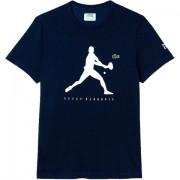 Camiseta Lacoste Novak Djokovic - Marinho