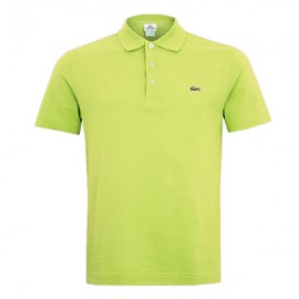 Camisa Polo Lacoste Slim Fit - Limão