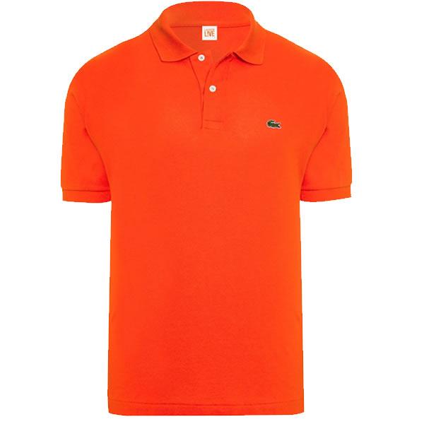 Camisa Polo Lacoste Sport - Laranja - Oficina do Tenista eb281b2013