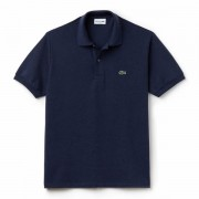 Camisa Polo Lacoste Classic Fit - Marinho