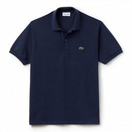 Camisa Polo Lacoste Classic Fit - Marinho