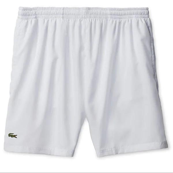 3425a4ccef6aa Shorts Lacoste Sport - Branco - Oficina do Tenista