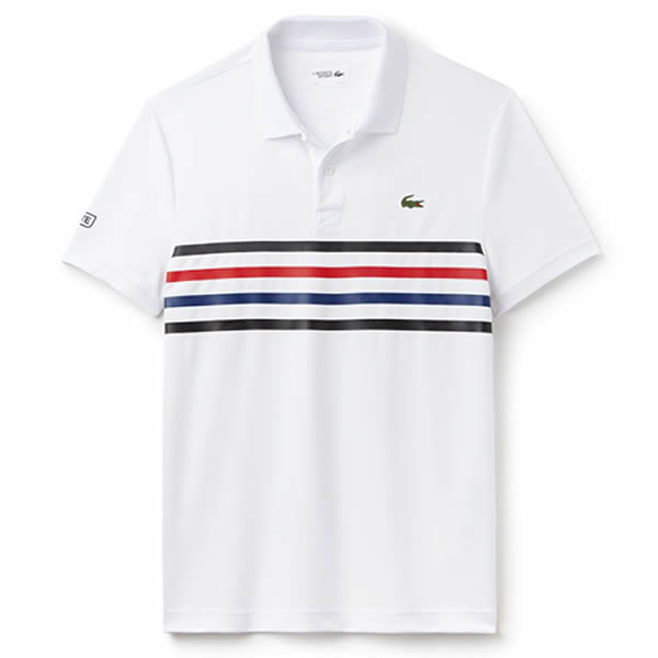 ba5bcd76edfa1 Camisa Polo Lacoste Sport - Branca - Oficina do Tenista