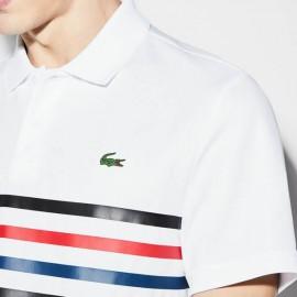 Camisa Polo Lacoste Sport - Branca