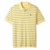Camisa Polo Lacoste Regular Fit - Amarela