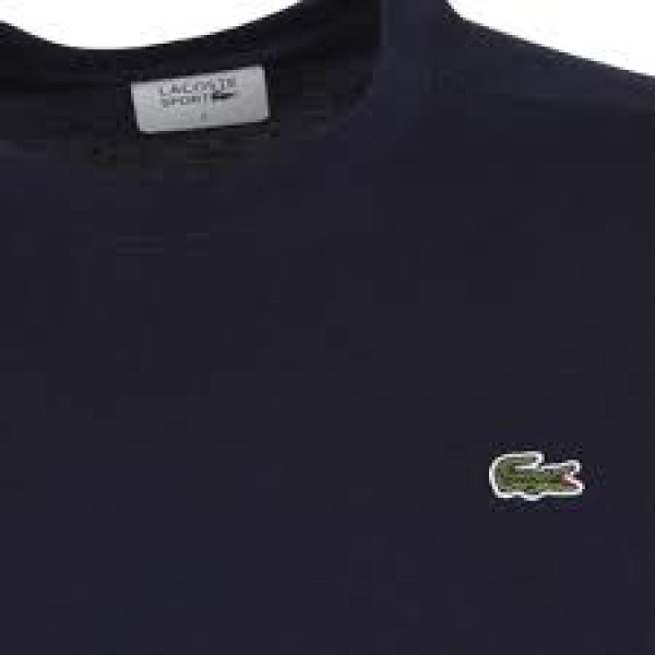 Camiseta Lacoste Sport - Marinho - Oficina do Tenista 8b1622db81