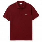 Camisa Polo Lacoste Classic Fit - Vermelha