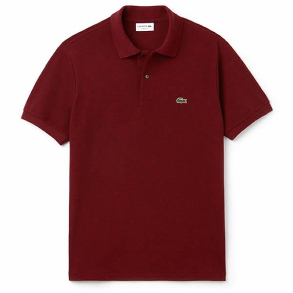 c0c96497272 Camisa Polo Lacoste Classic Fit - Vermelha - Oficina do Tenista