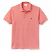 Camisa Polo Lacoste Classic Fit - Salmão