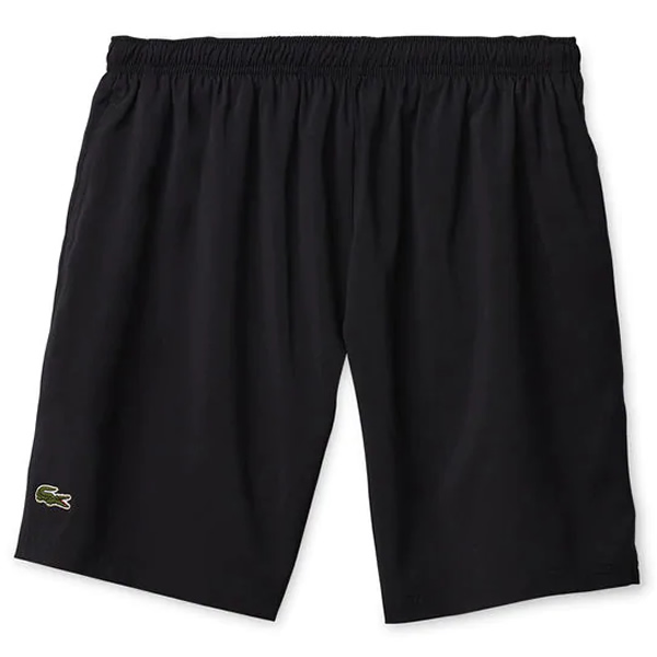 6d33308d42dbe Shorts Lacoste Sport - Preto - Oficina do Tenista
