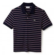 Camisa Polo Lacoste Regular Fit - Marinho