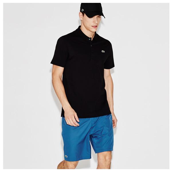 7a64068e83234 Camisa Polo Lacoste - Preta - Oficina do Tenista