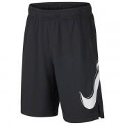 Shorts Nike Infantil Dry Fit GFX - Grafite e Branco